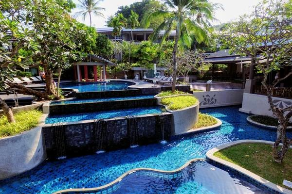 Piscine - Hôtel Andaman Cannacia Resort & Spa 4* Phuket Thailande