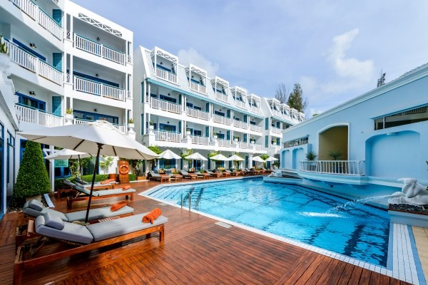 Piscine - Andaman Seaview 4* Phuket Thailande