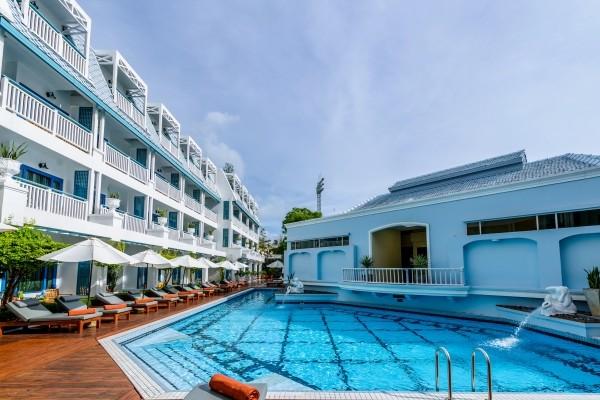 Piscine - Hôtel Andaman Seaview 4* Phuket Thailande