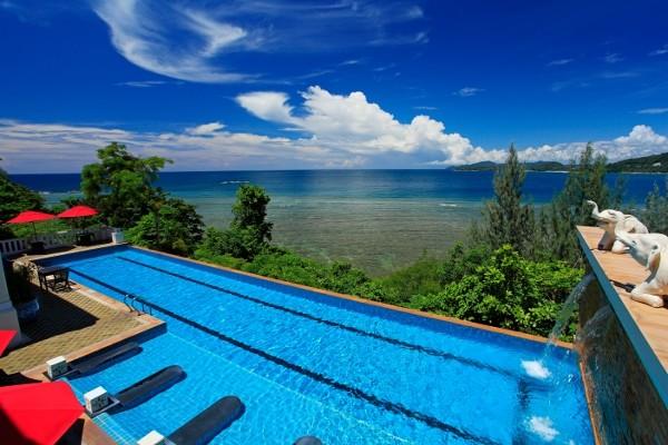 Piscine - Aquamarine Resort 4* Phuket Thailande
