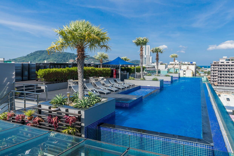 Piscine - Hôtel Best Western Patong Beach 3* sup Phuket Thailande