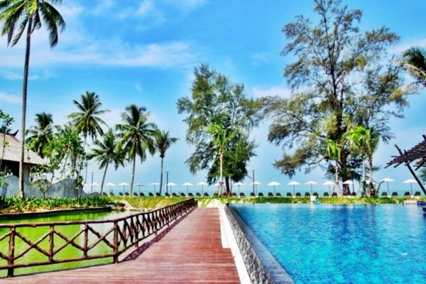 Piscine - Club Kappa Club Thai Beach Resort 5* Phuket Thailande