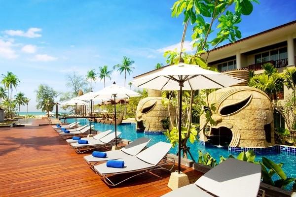 Piscine - Club Kappa Club Thai Beach Resort 5* Phuket Thailande