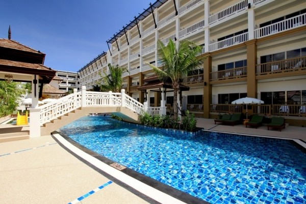 Piscine - Kata Sea Breeze Resort 3*Sup Phuket Thailande