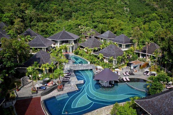Piscine - Hôtel Mandarava Resort & Spa 4* Phuket Thailande
