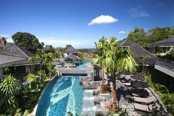 Piscine - Mandarava Resort And Spa 4* Phuket Thailande