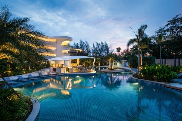 Piscine - Novotel Phuket Karon Beach Resort And Spa 4* Phuket Thailande