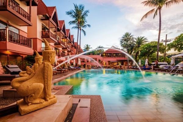 Piscine - Seaview Patong 4* Phuket Thailande