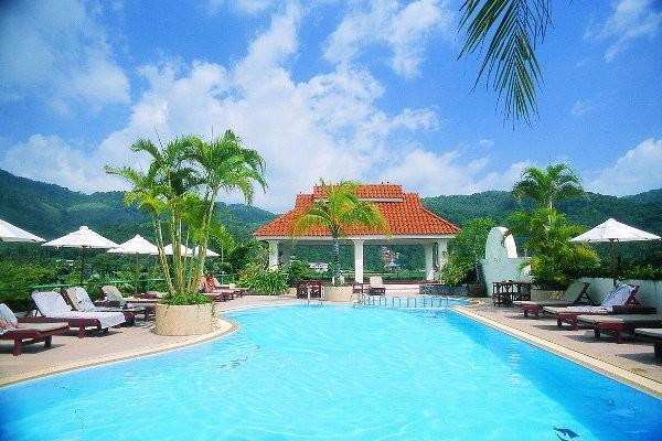 Piscine - Hôtel The Old Phuket Karon 4* Phuket Thailande
