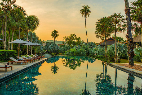 Piscine - The Slate 5* Phuket Thailande