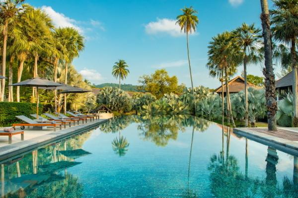 Piscine - The Slate 5* Phuket Thailande