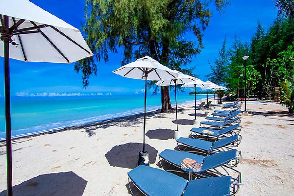Plage - Hôtel Sentido Graceland Khao Lak 4* Phuket Thailande