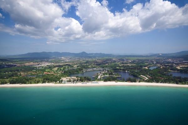 Vue panoramique - Angsana Laguna Phuket 5*Lux Phuket Thailande