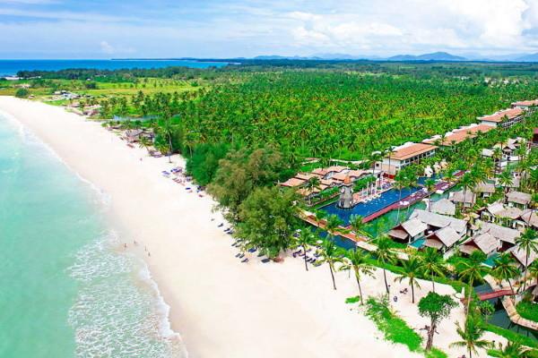 Vue panoramique - Club Kappa Club Thai Beach Resort 5* Phuket Thailande