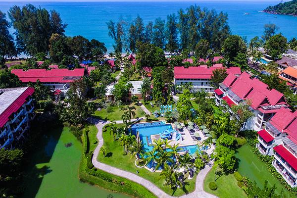 Vue panoramique - Hôtel Maxi Club Emerald Khao Lak Beach Resort & Spa 4* Phuket Thailande