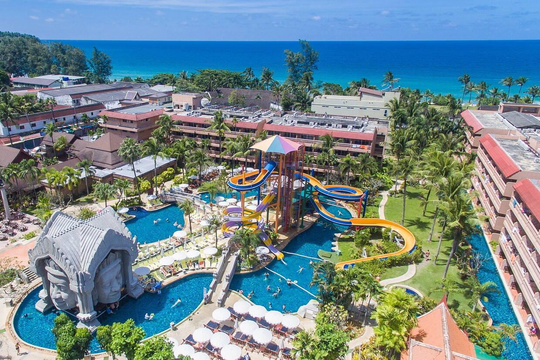 Vue panoramique - Phuket Orchid Resort & Spa 4* Phuket Thailande