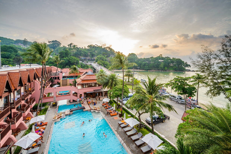 Vue panoramique - Seaview Patong 4* Phuket Thailande