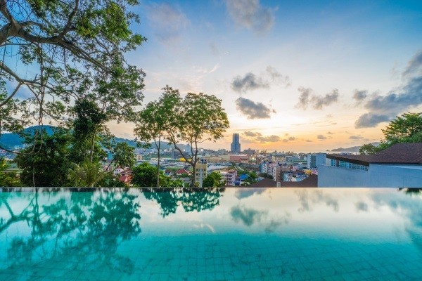 Vue panoramique - The Senses Resort 4* Phuket Thailande