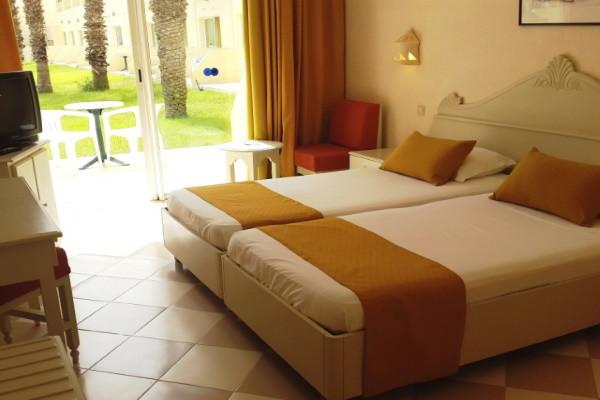 Chambre - Hôtel Zephir & Spa 4* Djerba Tunisie