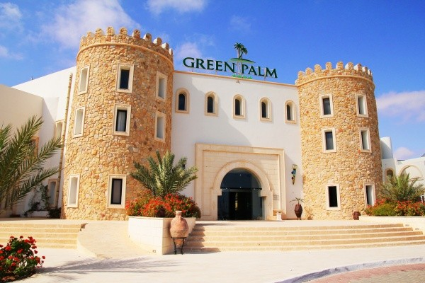 Facade - Green Palm 4* Djerba Tunisie