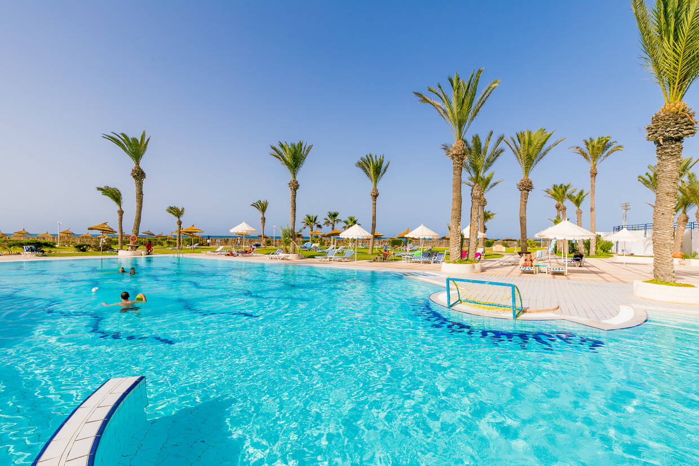 Piscine - Al Jazira Beach & Spa 3* Djerba Tunisie