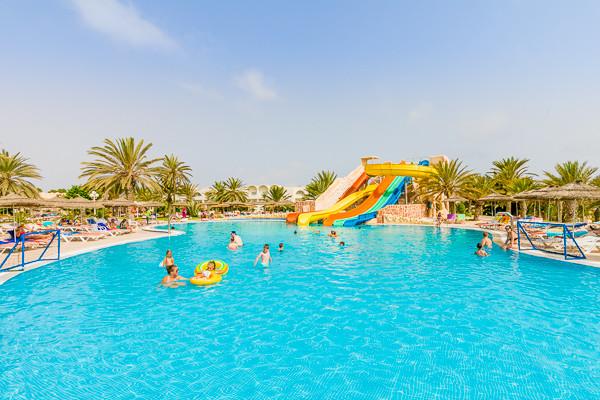 Piscine - Hôtel Baya Hotel Club 3* Djerba Tunisie
