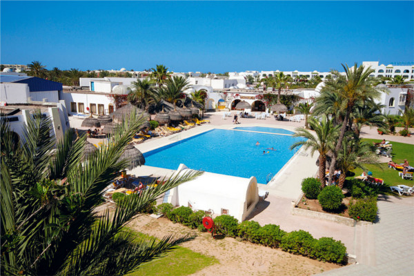 Piscine - Hôtel Cedriana 3* Djerba Tunisie