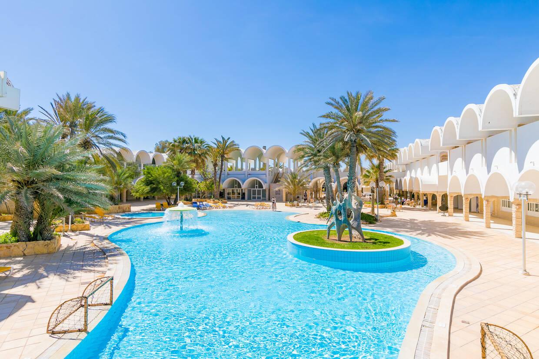 Piscine - Dar Djerba Zahra 3* Djerba Tunisie