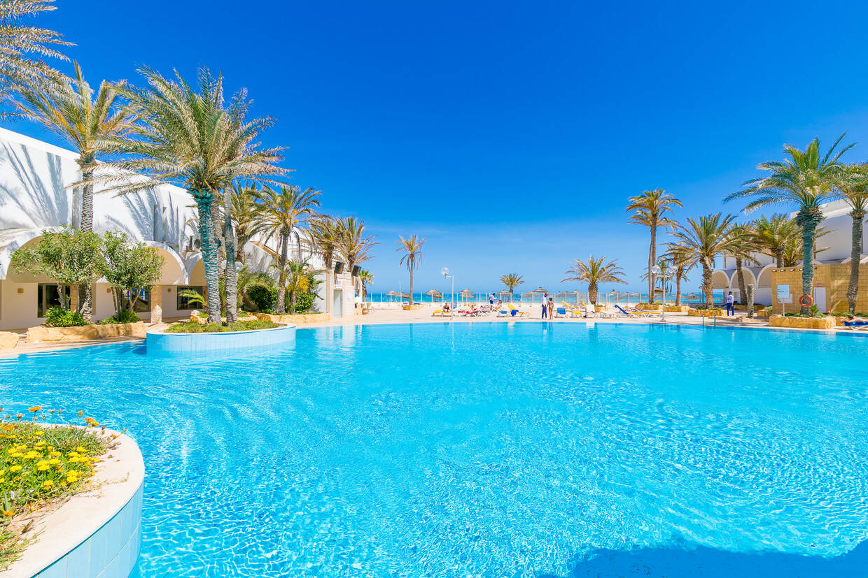 Piscine - Hôtel Dar Djerba Zahra 3* Djerba Tunisie