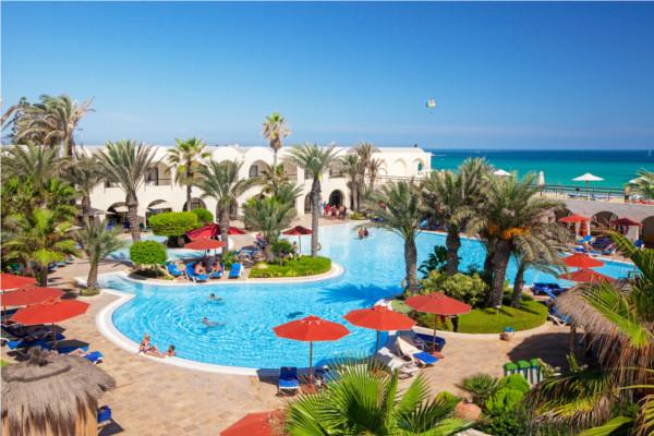 Piscine - Hôtel Djerba Beach 4* Djerba Tunisie