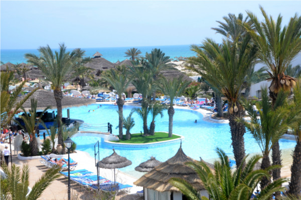 Piscine - Fiesta Beach Club 4* Djerba Tunisie