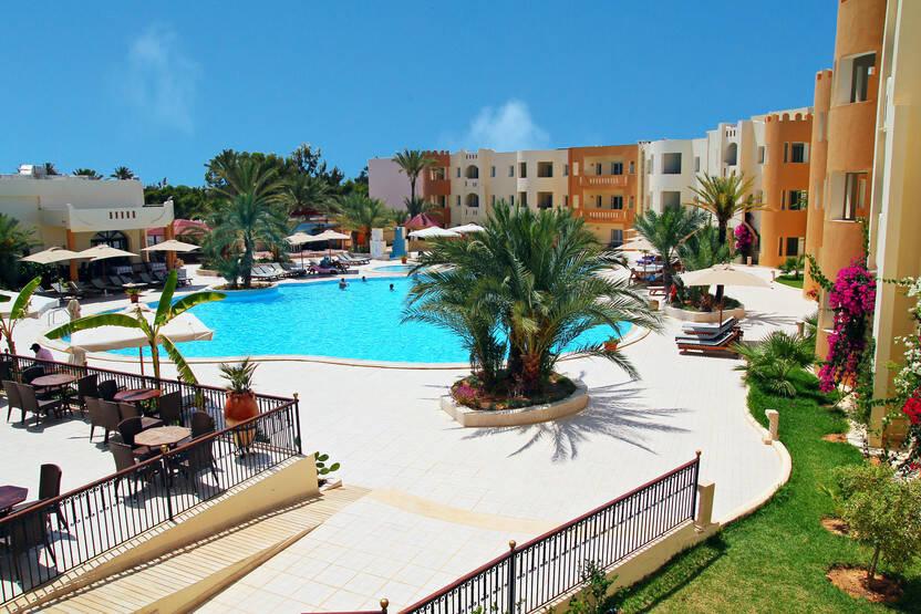 Piscine - Hôtel Green Palm 4* Djerba Tunisie