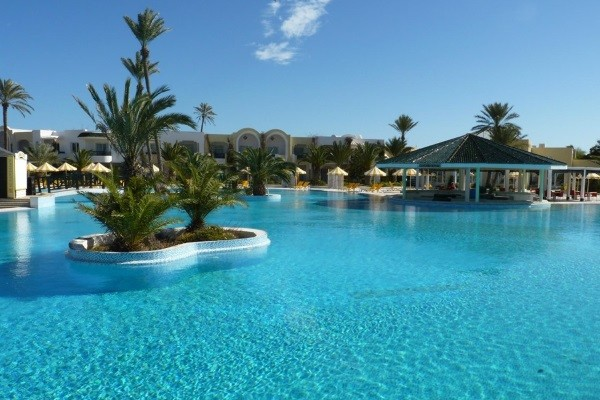 Piscine - Hôtel Holiday Beach 3* Djerba Tunisie