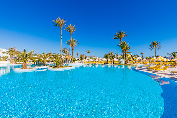 Piscine - Holiday Beach 4* Djerba Tunisie
