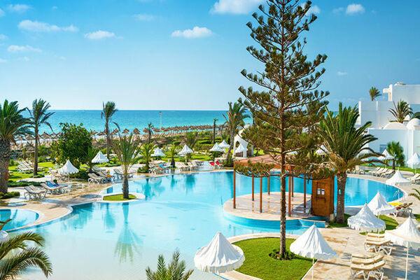 Piscine et mer - Ilyade Aquapark Djerba
