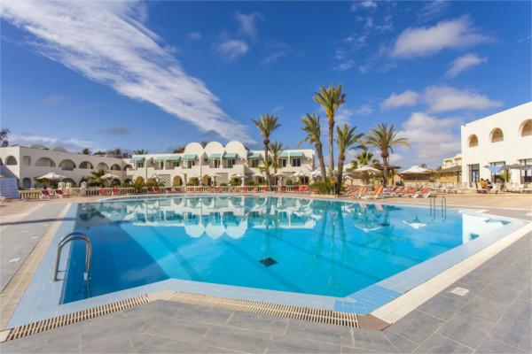 Piscine - Hôtel Le Petit Palais & Spa 3* Djerba Tunisie