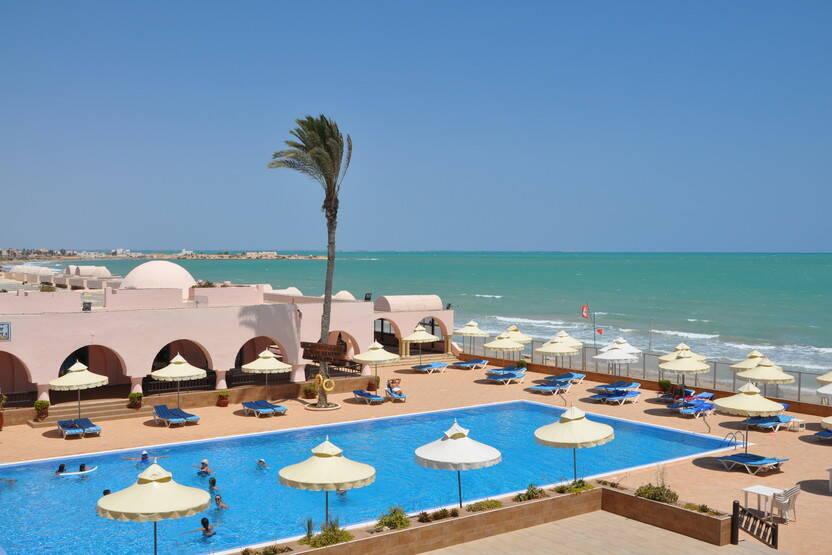 Piscine - Hôtel Oasis Marine Club 3* Djerba Tunisie