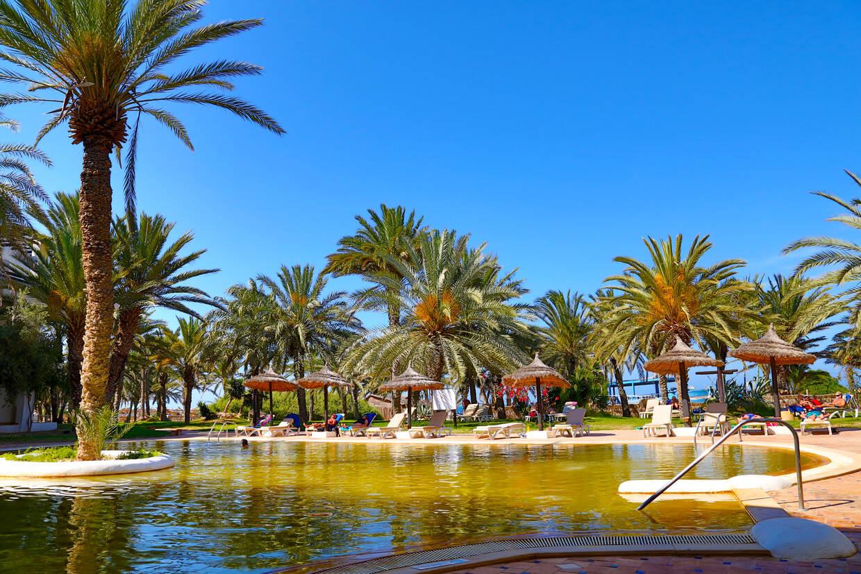 Piscine - Odyssee Resort 4* Djerba Tunisie