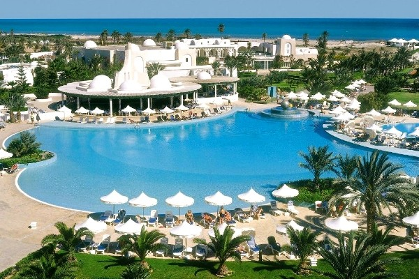 Piscine - Hôtel Royal Garden 5* Djerba Tunisie