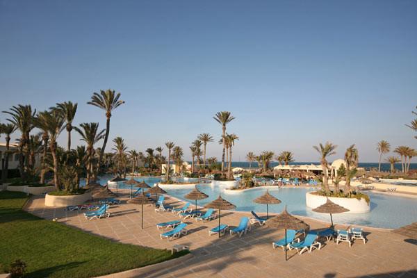 Piscine - Zephir Hotel & Spa 4* Djerba Tunisie