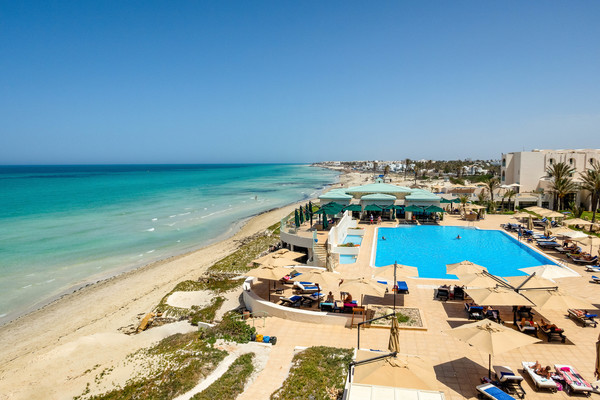 Plage - Hôtel Adult Only Ulysse Palace & Thalasso 5* Djerba Tunisie