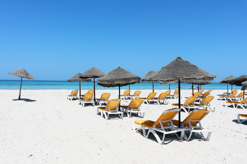 Plage - Hôtel Bakour Beach by checkin 4* Djerba Tunisie