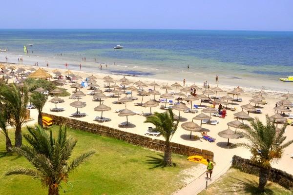 Plage - Hôtel Diana Beach 3* Djerba Tunisie