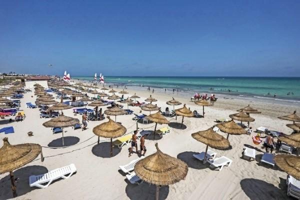 Plage - Club Jumbo Baya Beach & Hacienda 3* Djerba Tunisie