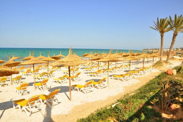 Plage - Hôtel Vincci Safira Palms 4* Djerba Tunisie