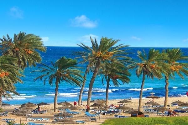 Plage - Zephir Hotel & Spa 4* Djerba Tunisie