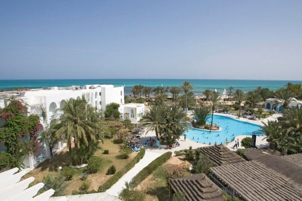 Vue panoramique - Club Bravo Club Golf Beach 3* sup Djerba Tunisie