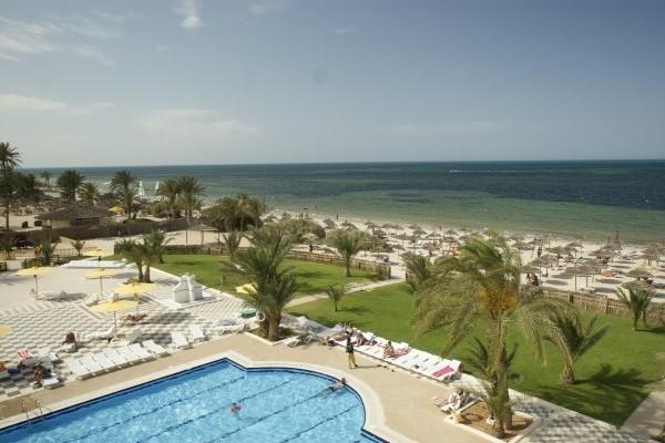 Vue panoramique - Hôtel Diana Beach 3* Djerba Tunisie