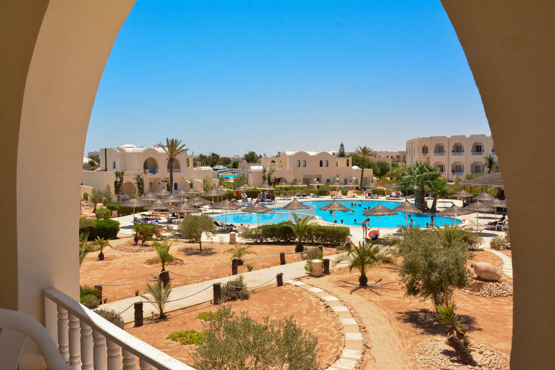 Vue panoramique - Hôtel Jerba Sun Club 3* Djerba Tunisie