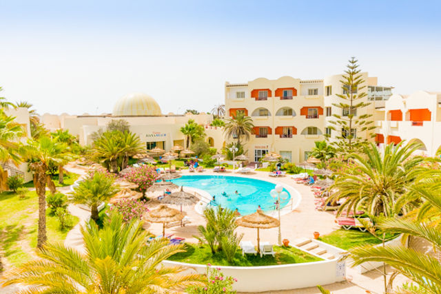 Fram Tunisie : hotel Club Jumbo Baya Beach Aqua Park Hôtel - Djerba